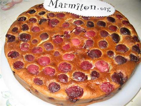 photo 2 de recette clafoutis aux cerises express marmiton