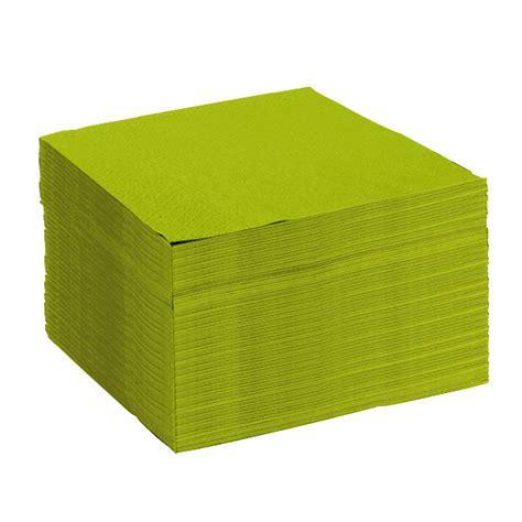 serviettes vertes anis micro gaufr 233 e 233 paisseur 224 2 plis