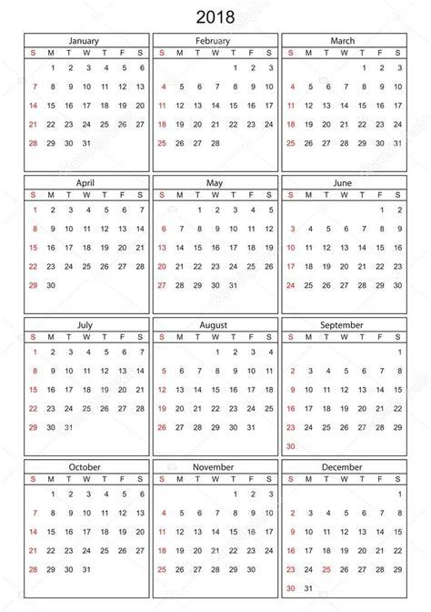 kalendar   vector lze prevest  libovolne velikosti