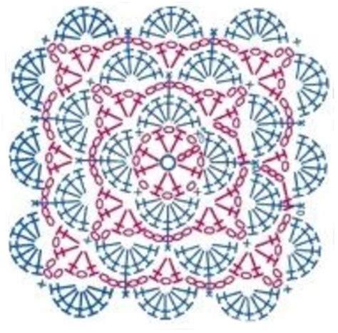 Piastrelle Crochet by Piastrella A Uncinetto Con Ventaglietti Per Copertina
