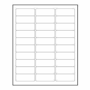 3000 blank 1quot x 2 5 8quot return address labels inkjet laser With 4 x 2 5 label template