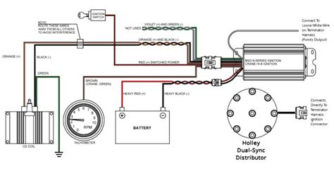 Effect Distributor Wiring Diagram by Demystifying Holley Terminator And Sniper Ignition Hookup