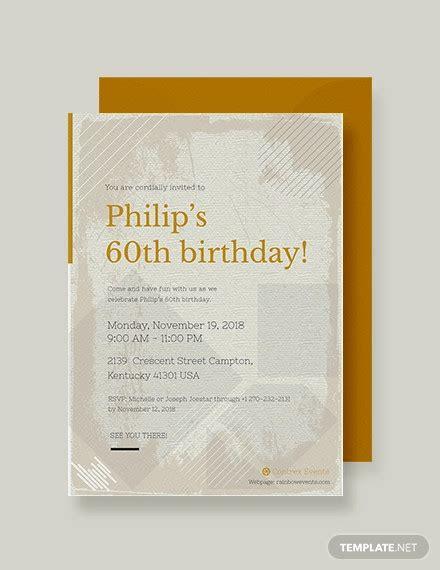 birthday invitations psd ai vector eps design