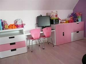 Chambre Fille Ikea : etagere murale chambre bebe ikea ~ Teatrodelosmanantiales.com Idées de Décoration