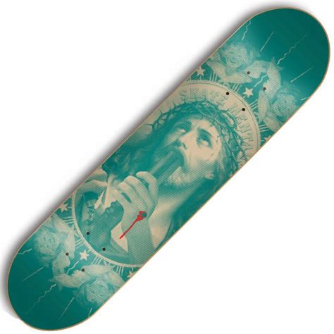 Skate Mental Decks 80 by Skate Mental Skate Mental Oh My Lord Skateboard Deck 8 125
