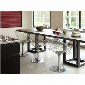 Table Haute Salle A Manger : table a manger haute ~ Teatrodelosmanantiales.com Idées de Décoration