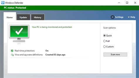 how to turn on of windows defender tech advisor