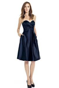 navy blue dress for wedding strapless navy blue bridesmaid dresses cherry