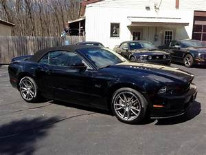 2014 Black Ford Mustang GT Convertible