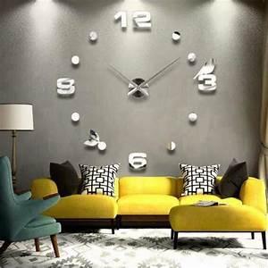 Wanduhr Design Wohnzimmer : designer wanduhr wohnzimmer wandtattoo design vogel deko xxl 3d ebay ~ Buech-reservation.com Haus und Dekorationen