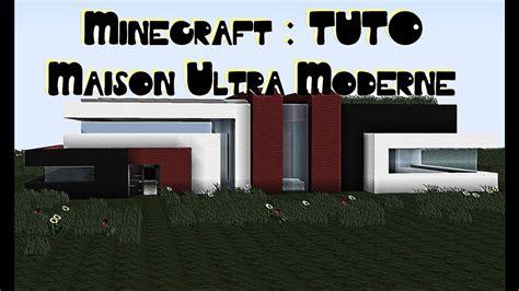 Minecraft [tuto] Maison Ultra Moderne Simple Et Sans Mods