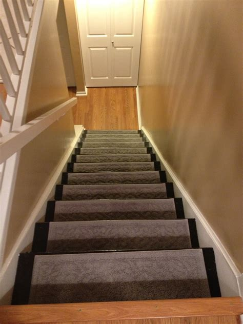 Carpeted Dog Stairs by Redoing The Basement Stairs Life With Muddy Paws