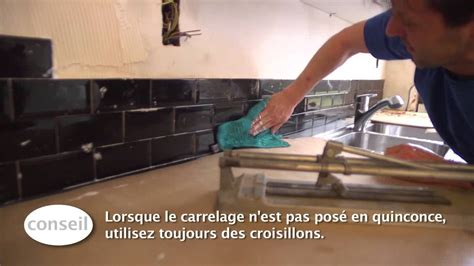 carreler  dosseret de cuisine video bricolage gamma