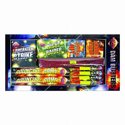 Firework Pack Barrage Boxes Selection Dambusters Fireworks