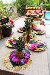 best 25 luau centerpieces ideas on luau decorations luau centerpieces