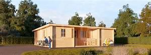 Chalet Bois Toit Plat : le chalet uzes toit plat 58mm 70m chalet ~ Melissatoandfro.com Idées de Décoration