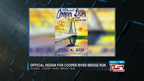 video winning artwork unveiled cooper river bridge run