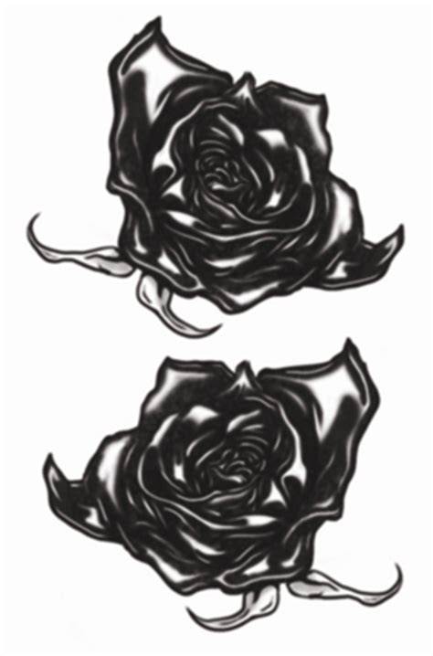 tinsley black roses gothic tattoos dons hobby shop