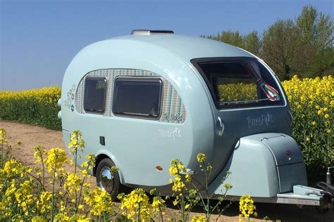 camper trailer combines retro style  modern amenities