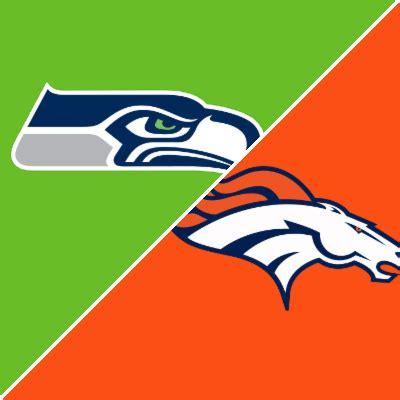seahawks  broncos game summary september   espn