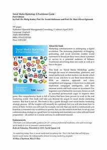 (PDF) Social Media Marketing - A Practitioner Guide
