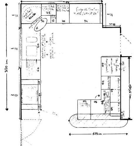 plan cuisine l cuisine notre maison à moussy