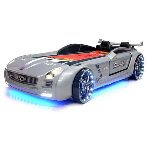 lit enfant voiture lit voiture pour enfant roadster eclairage led avec