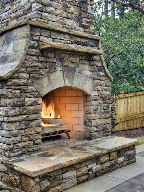 best 25 outdoor fireplaces ideas on pinterest outdoor