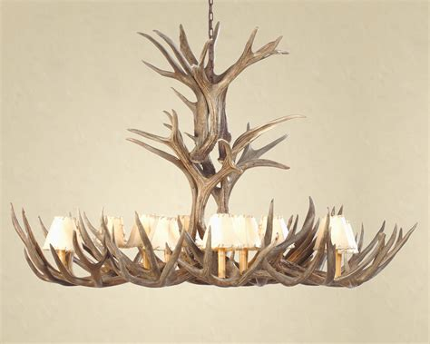 deer antler ceiling fan for sale l deer horn chandelier with authentic look for your