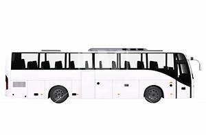 Modern White Bus Side View - download high-resolution PNG ...