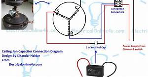 Capacitor For Ceiling Fan Electrical Diagram