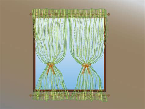 How To Make Drapery by How To Make A Privacy Curtain 10 Steps With Pictures