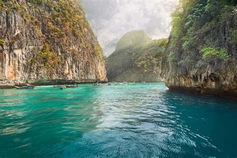 krabi to phi phi island tour by speedboat my thailand tours
