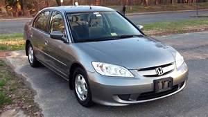 2005 Honda Civic Hybrid Manual Review  Walk Around  Start