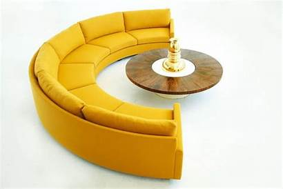 Circle Sofa Semi Sectional Milo Baughman Sofas