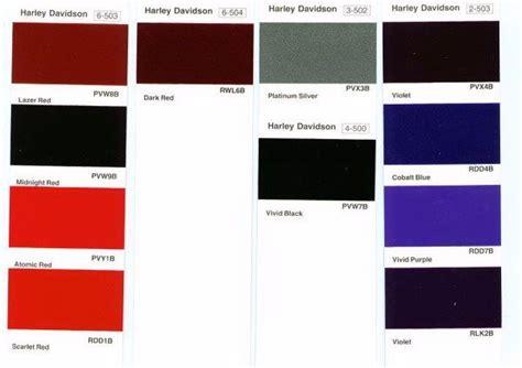 harley davidson paint color codes harley davidson wish