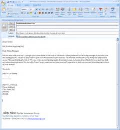 Resume Email Cover Letter Email Cover Letter Message Apps Directories