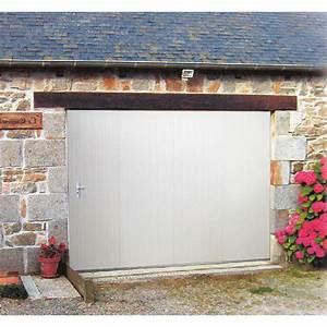 porte de garage coulissante manuelle artens h200 x l240 With porte de garage coulissante automatique