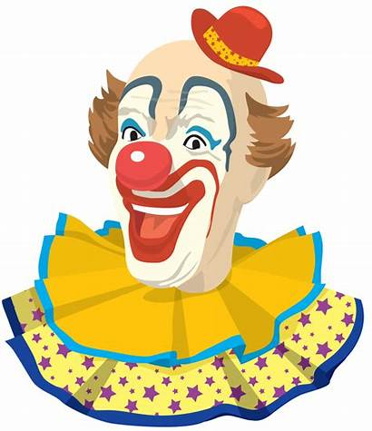 Clown Clipart Clowns Clip Hat Illustration Fashioned