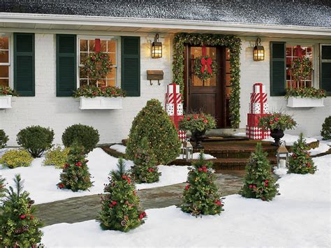 outdoor christmas decorations battery operated  home