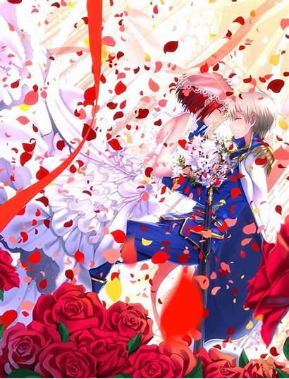 白雪 Hipwallpaper 赤髪 ゼン ウィ Akagami Shirayukihime