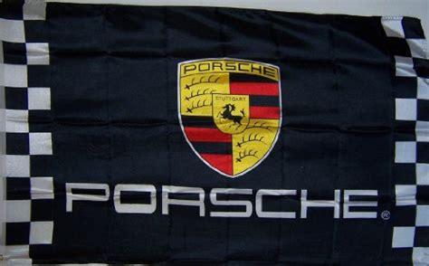 ftxft checkered porsche banner flag sign