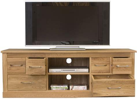 Kitchen Dresser Ideas - mobel oak widescreen television cabinet