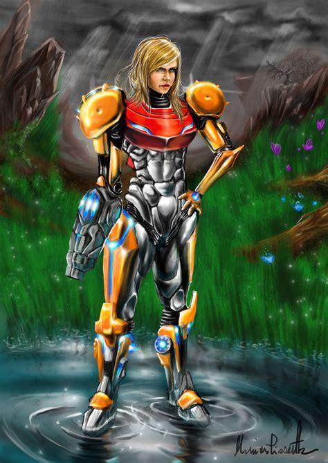 Samus Aran By Metroid Prime By Masshi128 On Deviantart