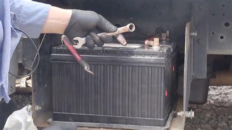 International Battery Diagram change truck battery in big truck 1