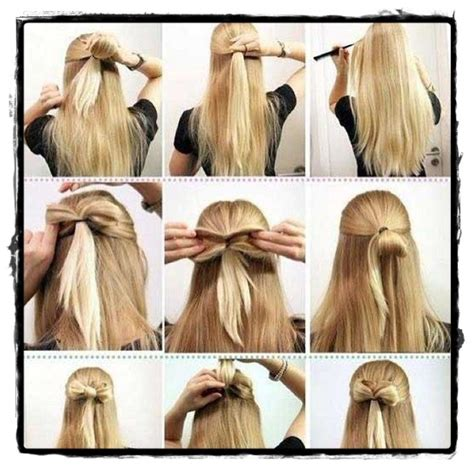 cute simple hairstyles for school beautiful simple
