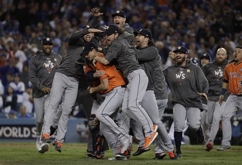 astros win st world series crown  game  win