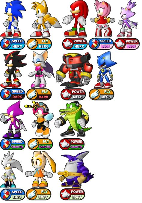 All Current Runners Characters Sonic The Hedgehog Know