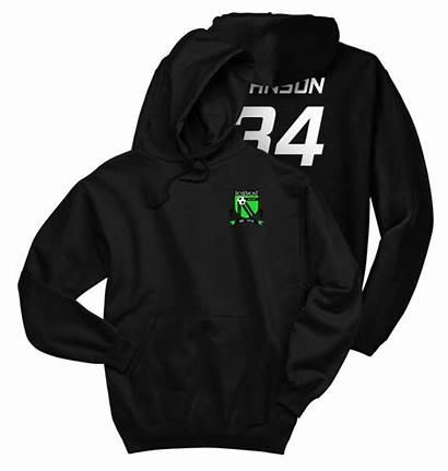 Soccer Sweatshirt Adult Rosemont Club Number Crest