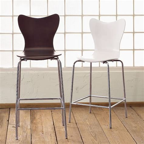 West Elm Scoop Back Chair by Scoop Back Bar Stool Counter Stool West Elm